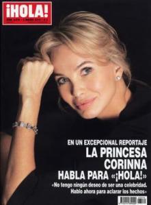 princesa-Corinna-zu-Sayn-Wittgenstein-portada-revista-Hola