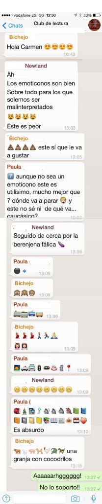 Chat CL Emoticonos unmundoparacurra