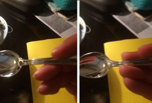coger cuchara