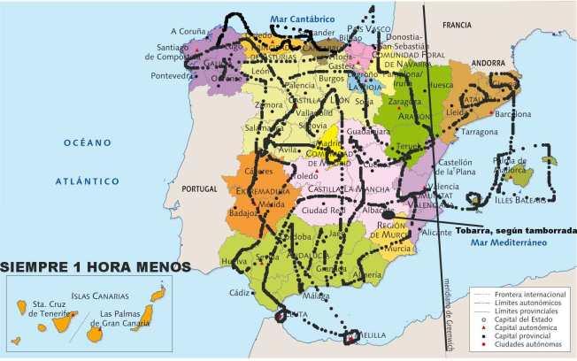 MAPA-ESPAÑA-HUSOS